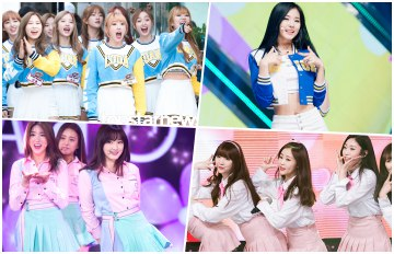 女團制服大戰!制服運動風成為韓國女生最愛的時尚新趨勢?