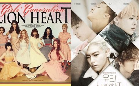 男女團所有音樂節目得冠次數TOP10 超狂!!!果然是「天團」~他們的一位次數讓人瞠目結舌