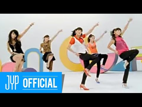 Wonder Girls - Tell Me (2007) 當時不會跳《Tell Me》這首歌舞步的韓國人幾乎沒有