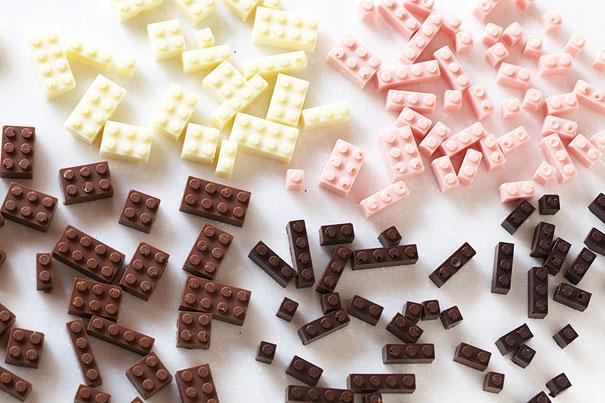 1.樂高巧克力
