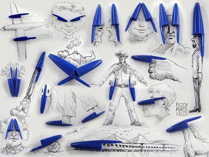 只是一個筆蓋 他有10種以上的想像