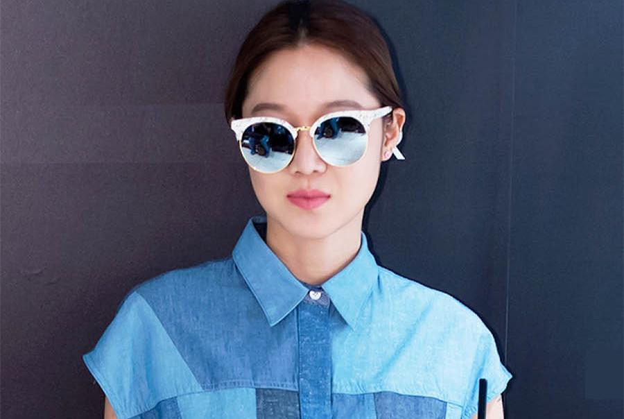 孔孝真帥氣的太陽眼鏡?