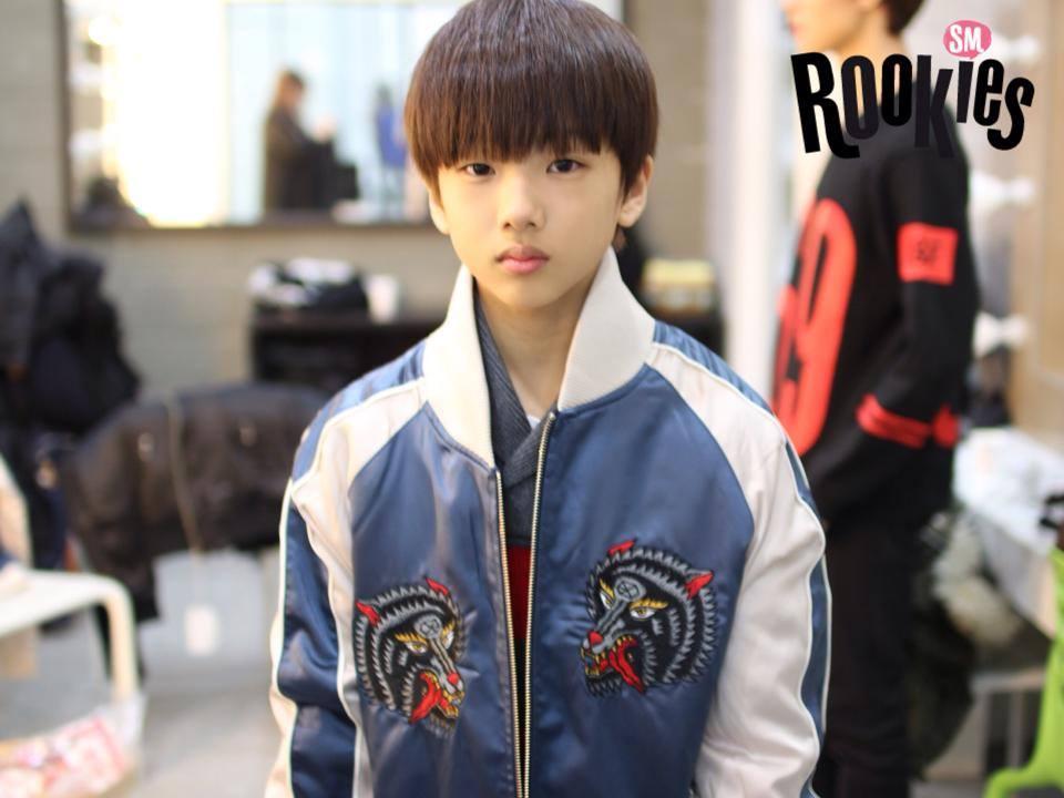 是男孩練習生中年紀最小的成員,今年才13歲啊!!!