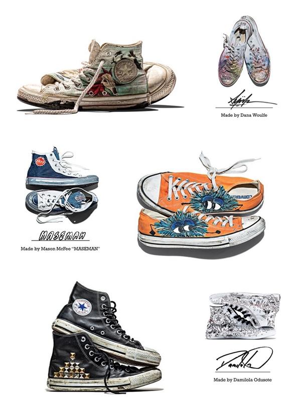 大家都很熟悉的Converse就不用多作介紹囉!經典款帆布鞋這麼多年宅是深受歡迎,另外Converse不定期也會做很多聯名的設計款,超值得收藏~