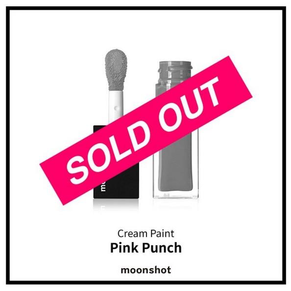 前陣子,Moonshot的Cream Point唇彩系列中 #104 Pink Punch 賣到斷貨,讓韓國少女們差點驚嚇到昏倒~