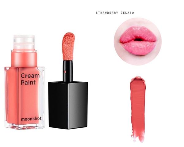 #103 strawberry gelato 另外鄭幼珍在劇中日常塗的珊瑚色調,也是最近的熱賣款!不浮誇卻能提亮臉色的珊瑚色,是女生日常上課、工作時最好的夥伴了我想