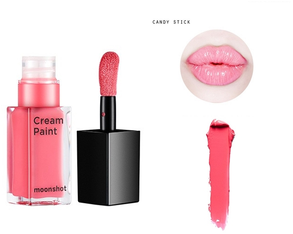 #102 candy stick 這款粉嫩淺色調的唇彩,其實是可以創造出柔嫩唇的神奇唇彩,也是詢問度很高的色號喔!