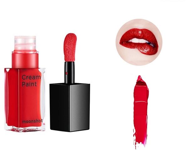 #105 drunken red 我個人非常推薦的鮮紅色調,在秋冬一片灰矇矇的造型中,擦上有如酒醉後的熱情紅唇,可以增加造型的立體感與增添一抹強烈的色彩!