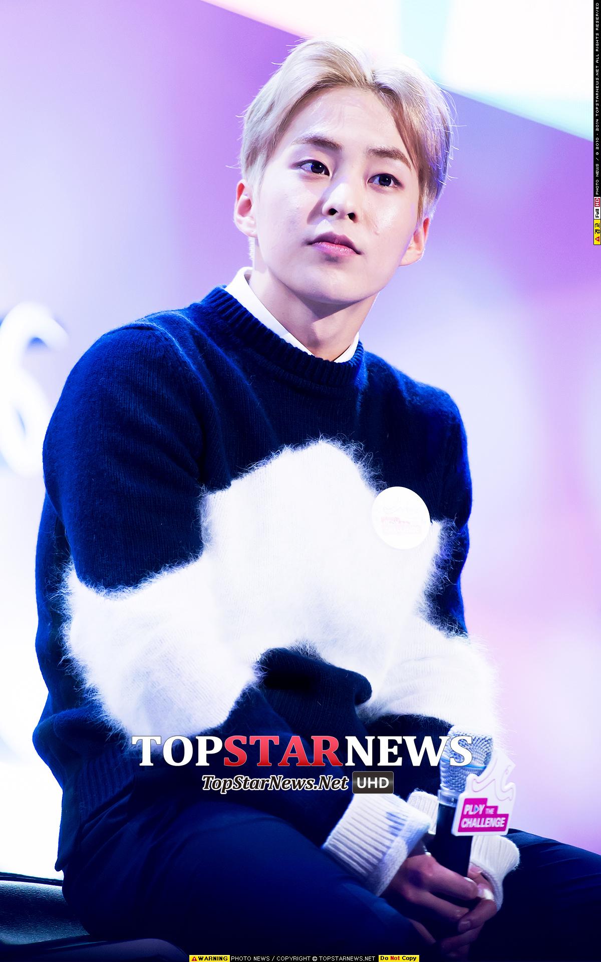 EXO Xiumin 「原本EXO行星是無法自己發光的,因為有著叫做EXO-L的星星,行星才能發出光芒,以後也繼續讓它發光吧!」