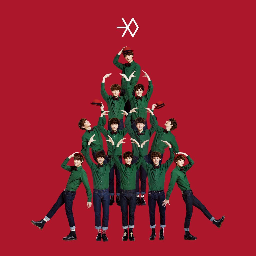 ★ NO.2 :: EXO《12月的奇蹟》197800 張 ★