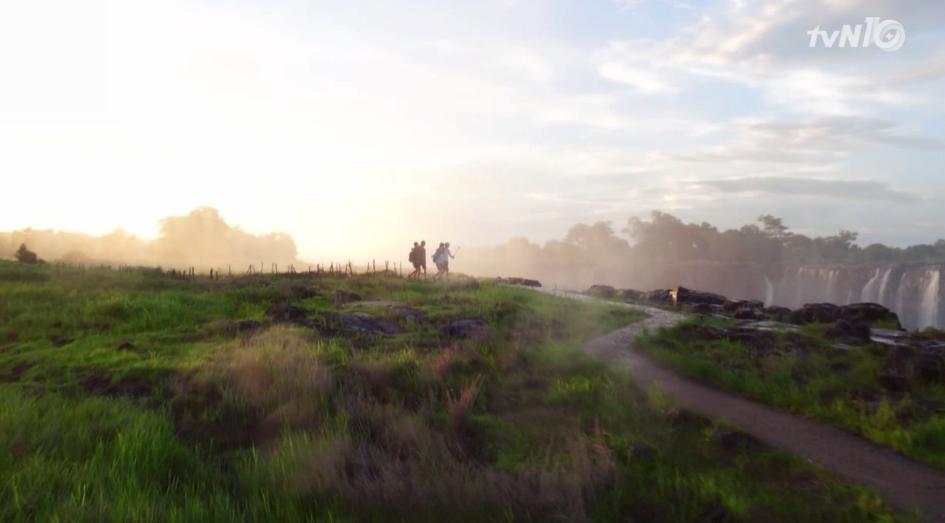 ♡ 看點一:美麗的非洲風景