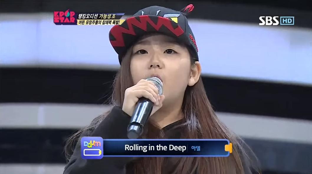 《KPOPSTAR 2》的參賽者 김민정 也曾選唱這首歌。