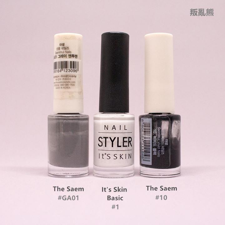 # 黑+白+灰