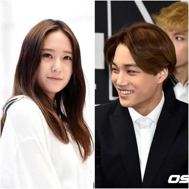 對關注韓國娛樂的人來說,昨天最重磅的新聞絕對是 f(x)Krystal和EXO的Kai 的戀愛消息。