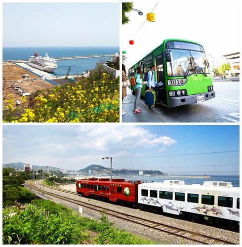 ♯ 交通方式 除了火車捷運,也可以坐坐巴士和客運,接觸當地人最常使用的交通方式
