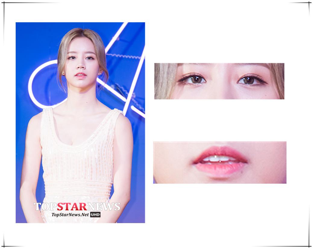 惠利跟Somi唇妝同色,不過畫霧面唇,最大的缺點就是容易乾,顯出唇紋,所以一定要做好保濕的打底工作。
