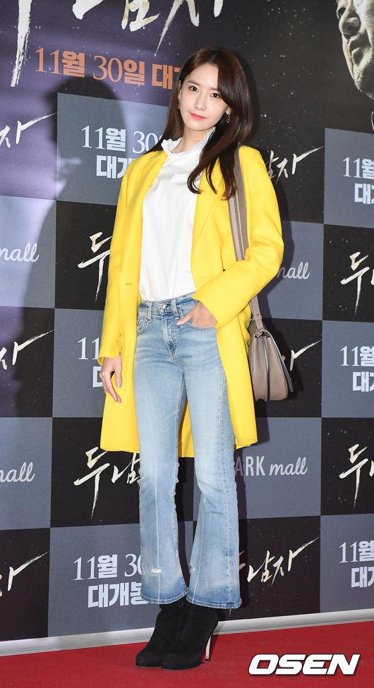 #喇趴褲顯瘦  或者是選擇最近韓國女生都在穿的喇叭褲,褲口不需要過寬,配上高跟鞋也能看起來長高10公分!