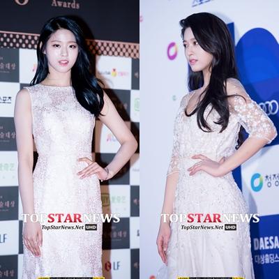 AOA 雪炫 雪炫真的很適合禮服啊~光是看照片都覺得漂亮,實物應該會更驚人!