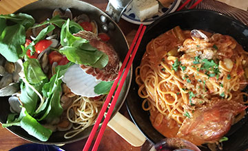 《韓國有用APP介紹》 年輕人最愛的弘大意式餐廳