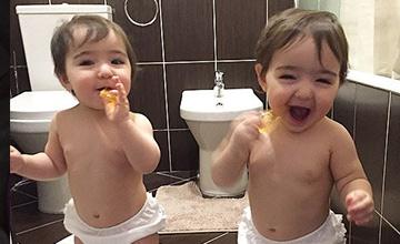 Shoo雙胞胎有復刻版? 美人雙胞胎就在俄羅斯