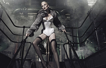 德國最長美腿女王:超模娜嘉奧爾曼