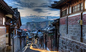 最適合漫步的浪漫之旅: 韓國韓屋村
