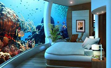 家中看海景誰說不可以 20個家庭水族館