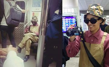 轉角遇到愛? 搭地鐵也可以見明星