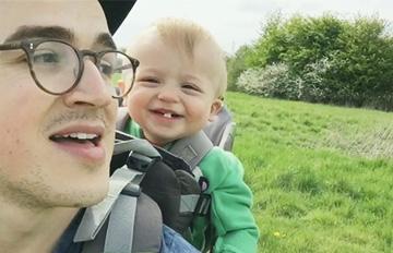 3秒讓你微笑 父與子的2分鐘幸福時光