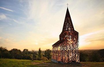 一眼就能看穿 荷蘭建築師蓋哲學教堂