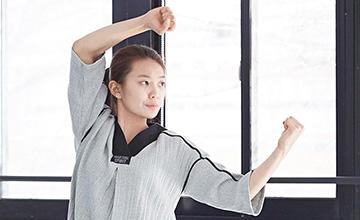跆拳道服也能穿上街?韓大學生的創意設計