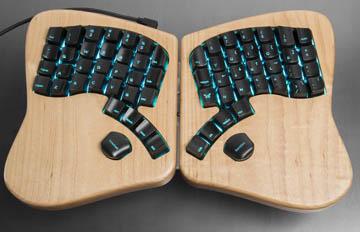 讓手更舒適?誘惑大眾的異色鍵盤