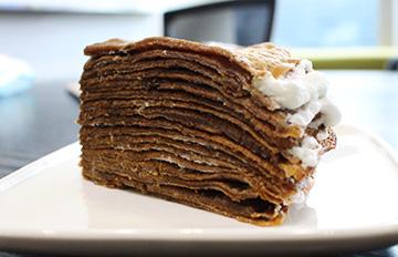 手殘也學得會 千層岩燒蛋糕簡單做