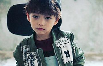 韓國爆紅7歲童模,集Chen、L、具荷拉於一身