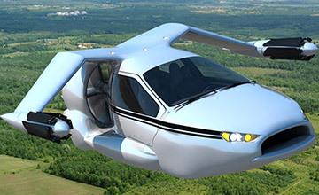 汽車上天不是夢,美商研發不用跑道飛車