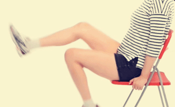 簡單易學的「椅子運動」 GET,教室、辦公室都是你的運動場!