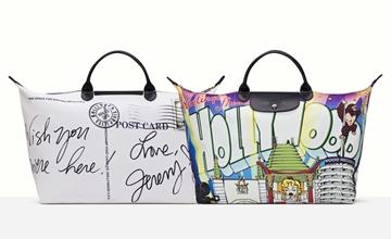 Jeremy Scott又來!×LONGCHAMP再推出10周年聯名旅行袋!