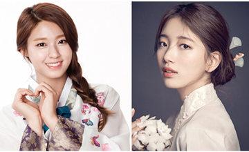雪炫還是秀智?「最適合韓服女偶像」排行提前白熱化