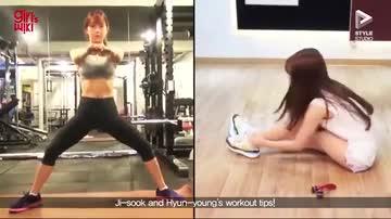 女團的美腿、小臀靠這招!原來練深蹲真的有效!