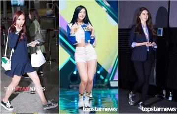 沒有高跟鞋也OK 完美消化運動鞋時尚女星TOP5