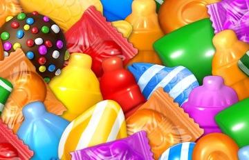 Candy Crush大中毒!遊戲糖果是真實可口的存在♥