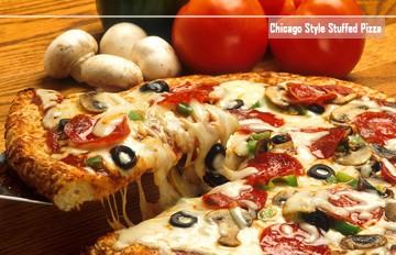 減肥不敢吃的你可以放肆一回! 甜辣香濃的芝加哥披薩 (¯﹃¯)