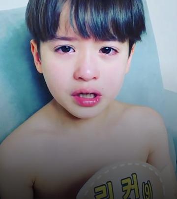 韓混血童星一撒嬌 保證心臟受不了