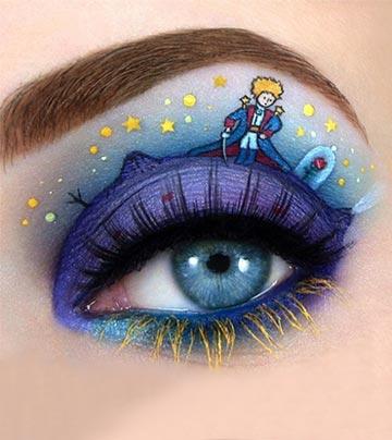 眼妝最強版! 眼皮上的藝術