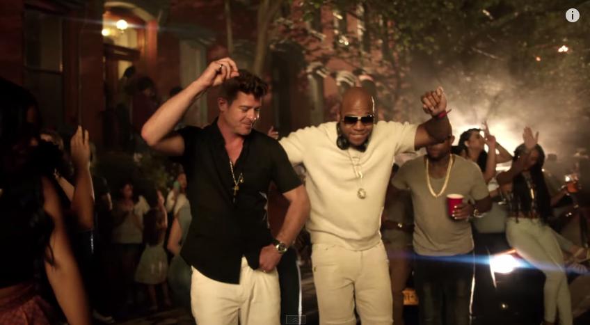 Flo Rida - I Don't Like It, I Love It (Robin Thicke & Verdine White)