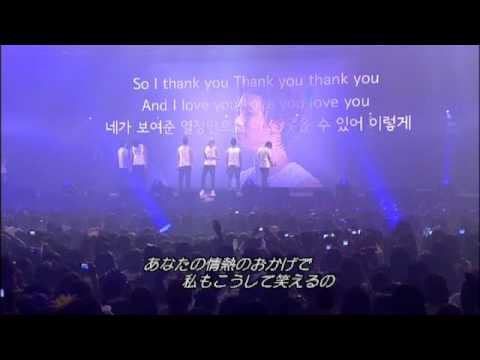 2pm - thank you (畫質不好,但是影片超感動)