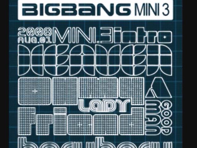 BIGBANG - 天堂  (2008.08.08.)  跟《一天一天》同張專輯,當時T.O.P唱著「oh baby 매일 들어가는 미니홈피 달콤한 향기~喔 baby 每天造訪的迷你小站有著香甜的氣味」,迷你小站就類似無名部落格那樣,現在也跟著沒落,就知道這流行語有多久遠~XD