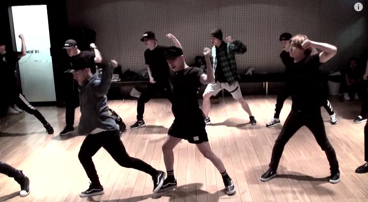 BIGBANG的《BANG BANG BANG》舞蹈練習影片~舞仙不愧是舞仙!