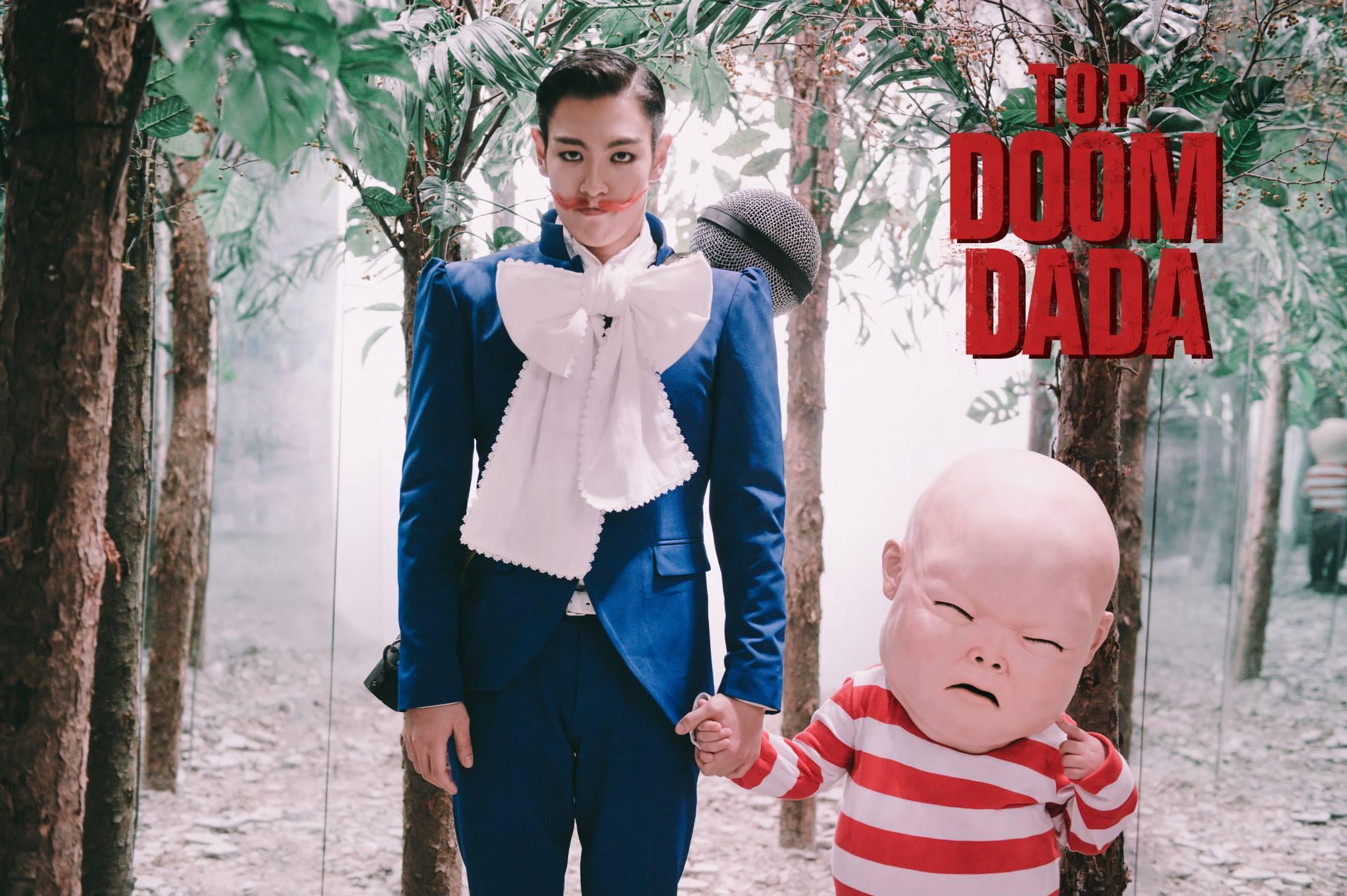3. DOOM DADA (2013.11.15)  SOLO曲的用意,就是讓大家看見你個人的獨特色彩!而這首《DOOM DADA》的發行,如果你摸不著頭緒的話,那你就看見真的TOP了XDD