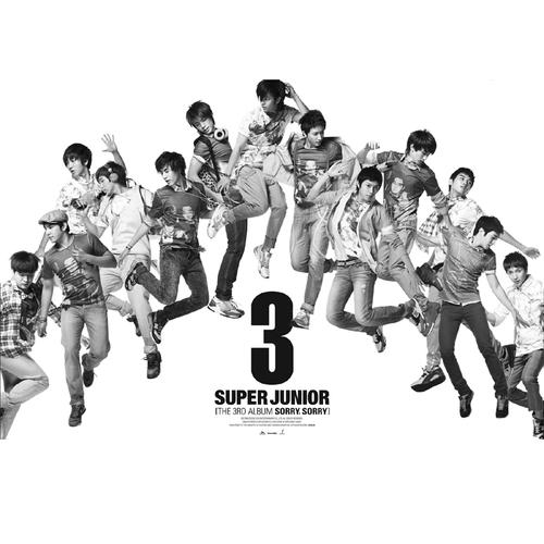 Super Junior - Sorry Sorry (2009.03.09)  《Sorry Sorry》這首歌算是倒吃甘蔗型,一開始發行並沒有引起太大話題,但是隨著亞洲宣傳發酵,從海外各地傳來捷報,從3月底開始佔據各大音樂節目一位!當然更推升Super Junior成為亞洲天團!